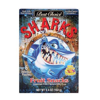 Best Choice Shark Fruit Snacks
