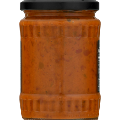 Marco Polo Red Pepper Spread, Ajvar, with Eggplant and Garlic, Mild