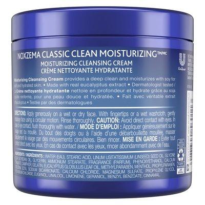 Noxzema Facial Cleanser Moisturizing Cleansing