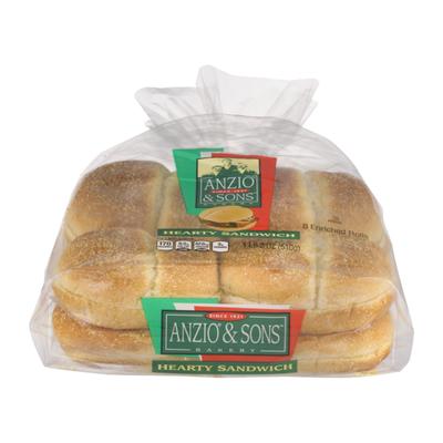 Anzio & Sons Hearty Sandwich Rolls