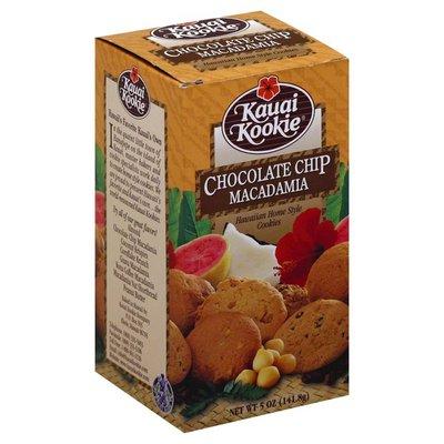 Kauai Kookie Cookies, Chocolate Ship Macadamia