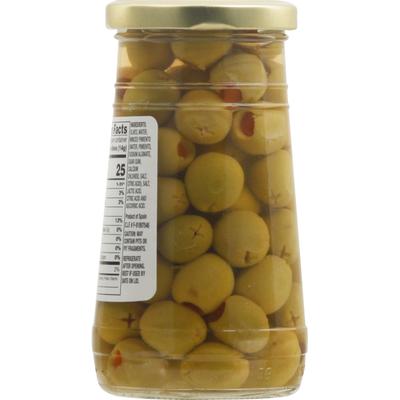 Food Lion Olives, Spanish, Stuffed Manzanilla