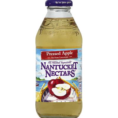 Nantucket Nectars 100% Pressed Apple Juice