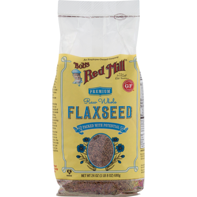 Bob's Red Mill Premium Raw Whole Flaxseed
