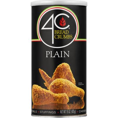 4C Foods Bread Crumbs Plain