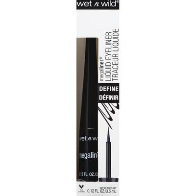 wet n wild Liquid Eyeliner, Define, Black 871A