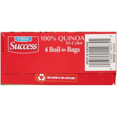 Success Boil-in-Bag 100% Tri-Color Quinoa
