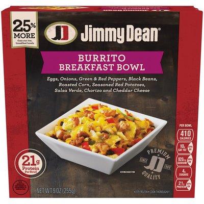 Jimmy Dean Breakfast Bowl Burrito