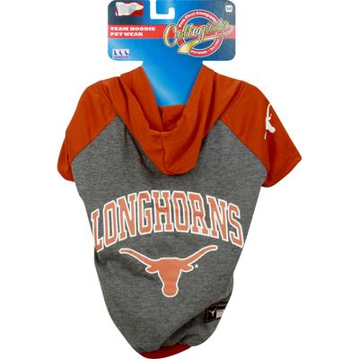 Pets First Pet Wear, Texas Hoodie Tee Shirt, Medium