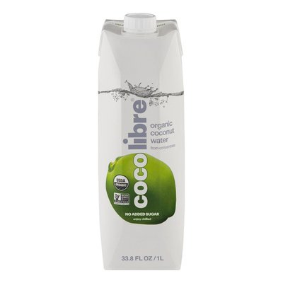 Coco Libre Organic Coconut Water, Pure Organic