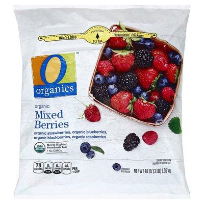 O organics organic Mixed Berries
