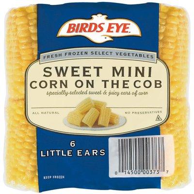 Birds Eye Corn on the Cob, Sweet Mini, Mini Ears