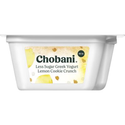 Chobani Less Sugar Greek Yogurt Lemon Cookie Crunch
