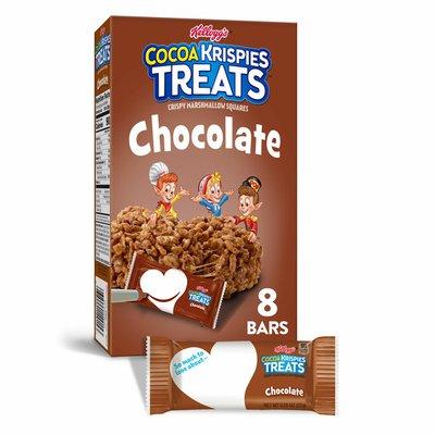 Kellogg's Cocoa Krispies Treats Crispy Marshmallow Squares, Chocolate