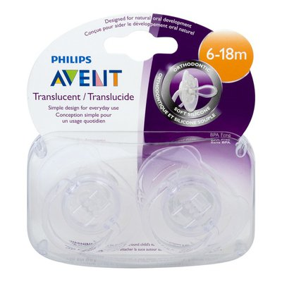 Philips Avent Orthodontic Pacifier 6-18m