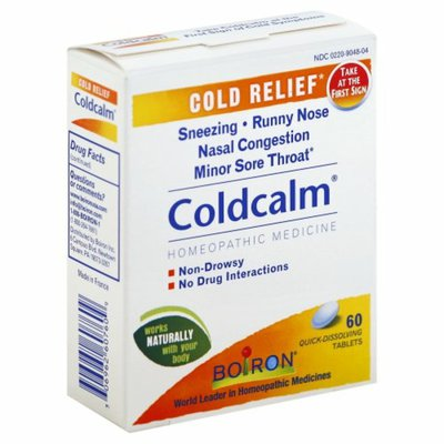 Boiron Coldcalm, Homeopathic Medicine for Cold Relief