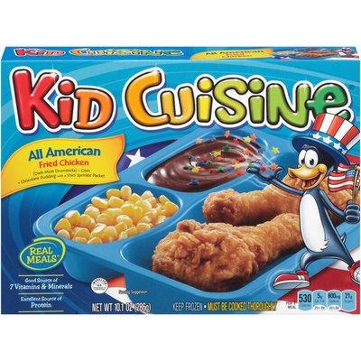 Kid Cuisine All American Fried Chicken Frozen Dinner