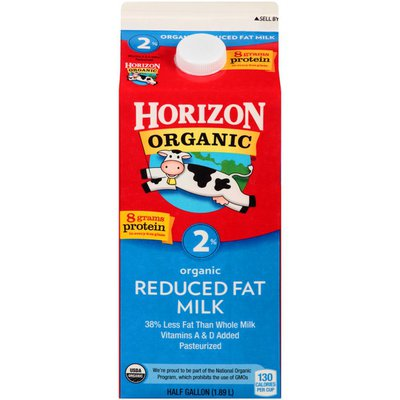 Horizon Organic 2% Reduced Fat Organic Milk