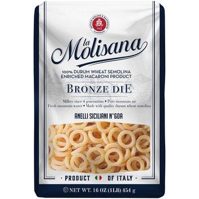 La Molisana Anelli Siciliani Nº 60A 100% Durum Wheat Semolina Enriched Macaroni Product