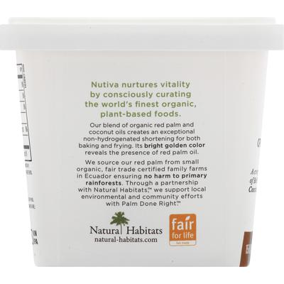 Nutiva Organic Red Palm & Coconut Shortening