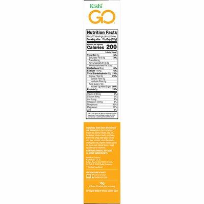 Kashi GO Breakfast Cereal, Vegetarian Protein, Honey Almond Flax Crunch