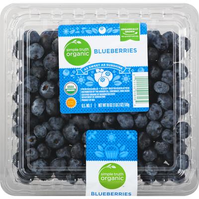 Simple Truth Organic Blueberries