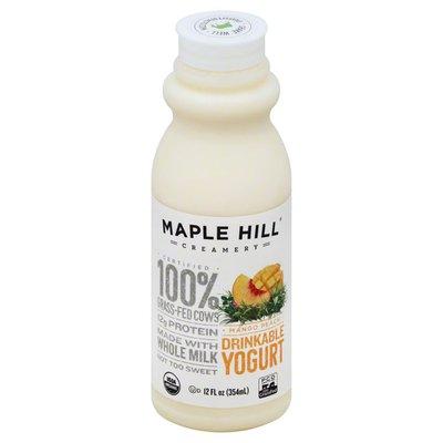 Maple Hill Creamery Yogurt, Drinkable, Mango Peach