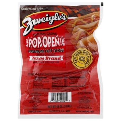 Zweigles Hot Dogs, Texas Brand