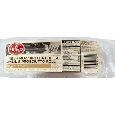 Signature Kitchens Fresh Mozzarella Cheese Basil & Prosciutto Roll