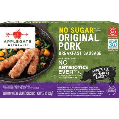 Applegate No Sugar Original Pork Breakfast Sausage