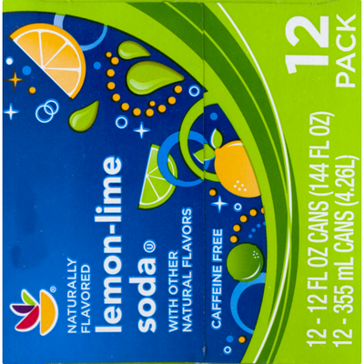 SB Soda Lemon-Lime - 12 PK