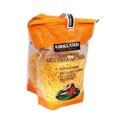 Kirkland Signature Mild Cheddar Shredded, 2 x 40 oz