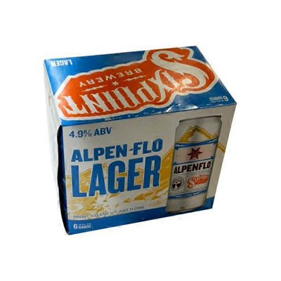 Sixpoint Brewery Alpenflo Helles Lager