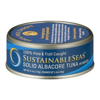 Sustainable Seas Sustainable Seas Solid Albacore Tuna in Water