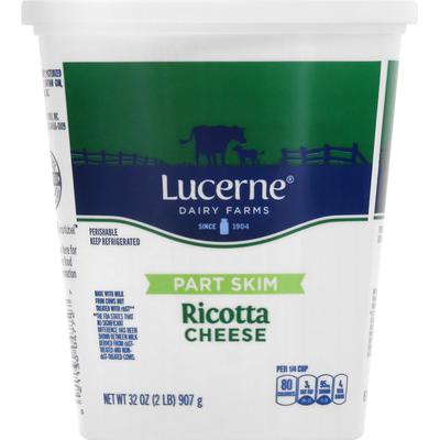Lucerne Ricotta Cheese, Part Skim