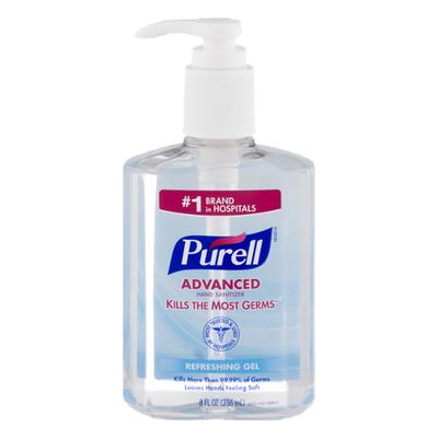 Purell Hand Sanitizer, Advanced, Refreshing Gel