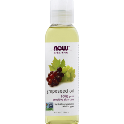 Now Moisturizer, Grapeseed Oil