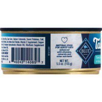 Blue Buffalo Tastefuls Natural Flaked Wet Cat Food, Tuna Entrée in Gravy