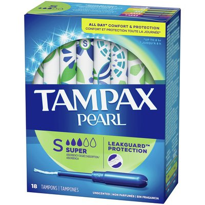 Tampax Tampons Super Absorbency