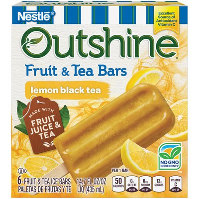 Outshine Lemon Black Tea Fruit & Tea Bars