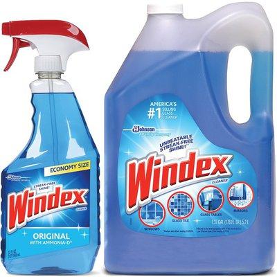 Windex Blue Glass Cleaner Refills