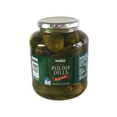 Meijer Polish Dill Pickles