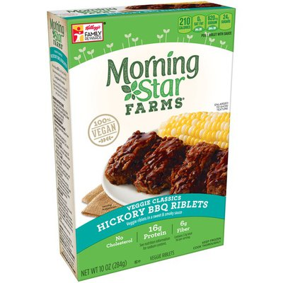 Morning Star Farms Meal Starters Hickory BBQ Riblets