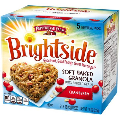 Pepperidge Farm Brightside Soft Baked Granola Cranberry Cookies