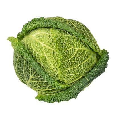 Organic Green Savoy Cabbage