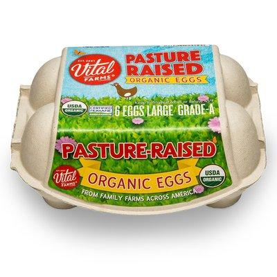 Vital Farms Organic Pasture Raised Large Grade AA Eggs