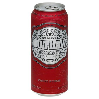 Outlaw Energy Drink, Fruit Punch