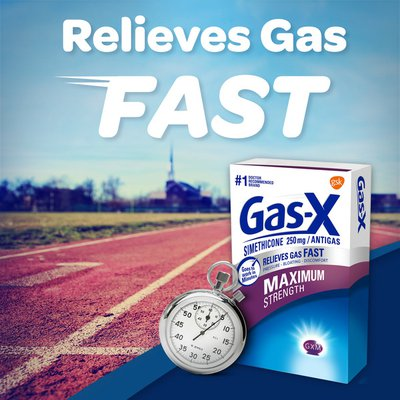 Gas-x Maximum Strength Gas Relief Softgels, Maximum Strength Gas Relief Softgels