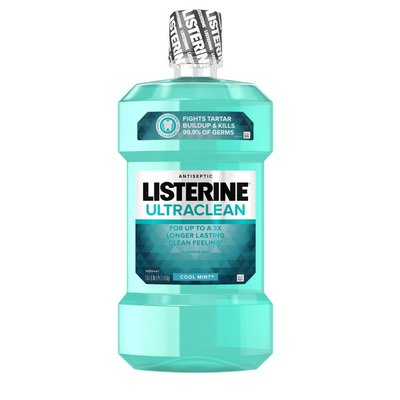 Listerine Ultraclean Cool Mint Antiseptic Mouthwash