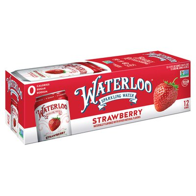 Waterloo Sparkling Water Strawberry